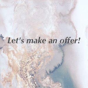 Send me your best offer!